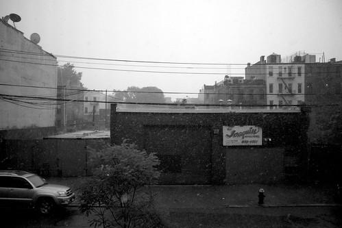 Red Hook rainstorm