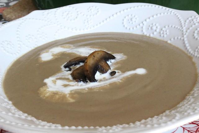 蘑菇湯&筆管麵 1506