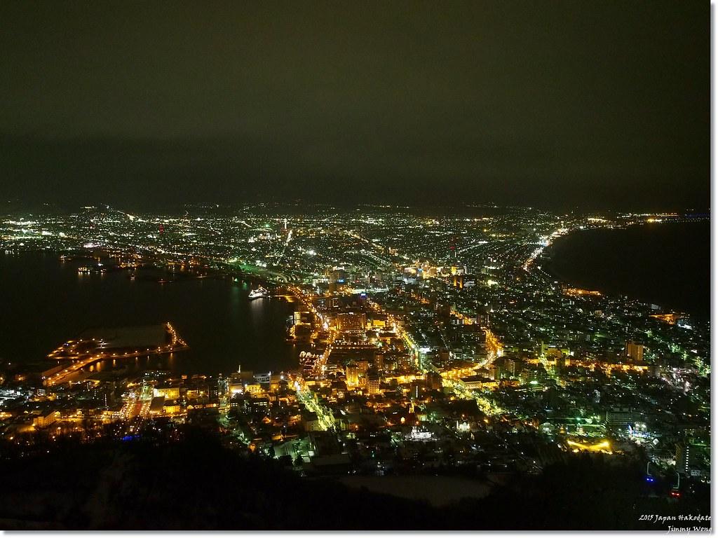 [日本東北自助行]-延伸北海道函館-函館百萬夜景(那年我的除夕夜大餐)