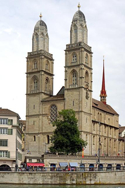 Grossmünster church by CC user archer10 on Flickr