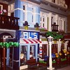 Another shot of my street as its coming along #lego #creator #pieces #set #detective #office #city #afol #photos #photography #camera #legophoto #toyphoto #minifig #minifigures #photo #toy #brickphoto #brick #bricknetwork #piece #blue