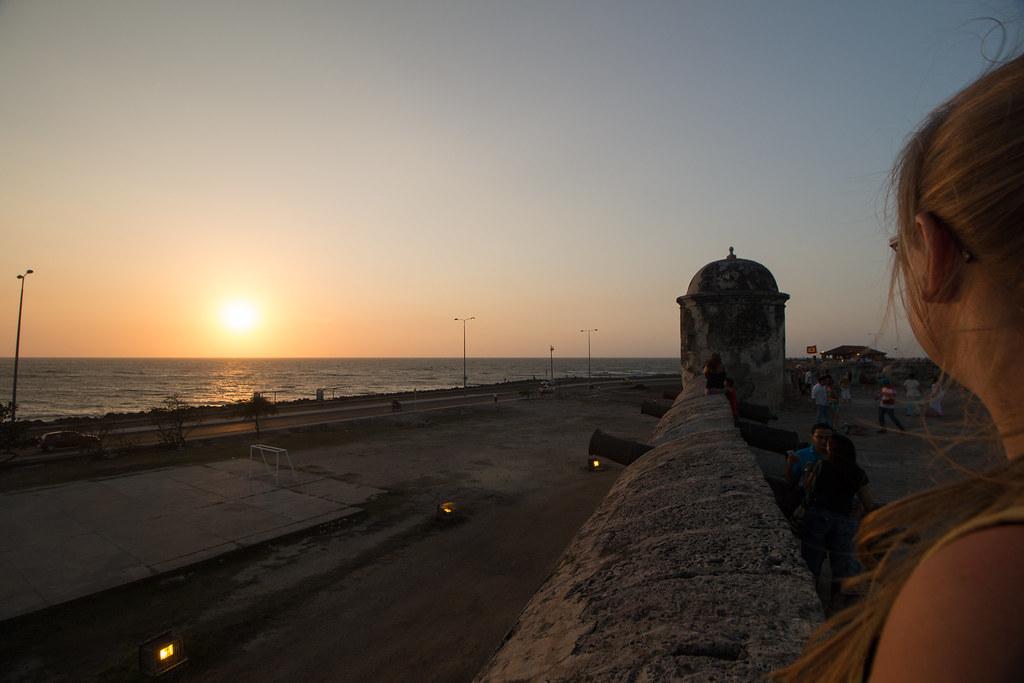 auringonalsku, Cartagena, Kolumbia