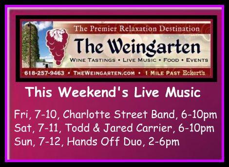 The Weingarten 7-10 thru 7-12-15