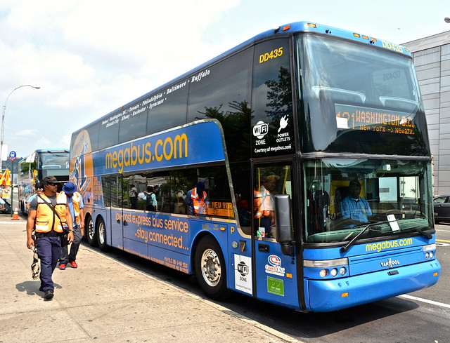 New York to Philadelphia - megabus