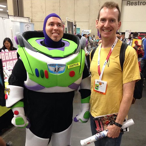 To infinity and beyond! #buzzlightyear #sdcc2015
