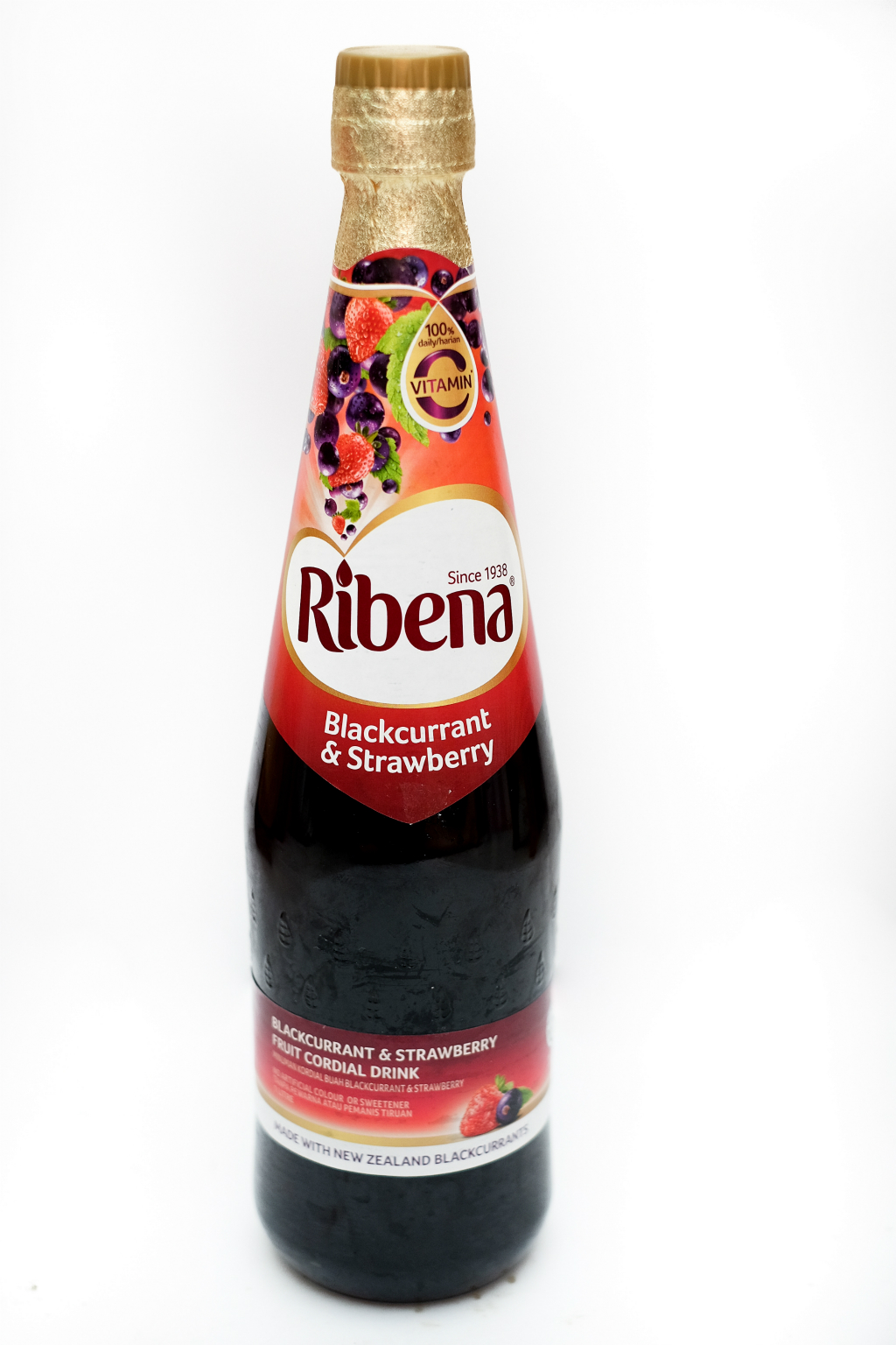 Recipe: Ribena Blackcurrant & Strawberry Cheese Cake