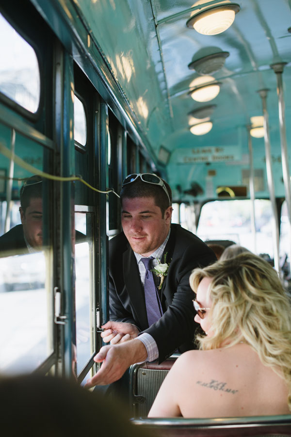 Celine Kim Photography Bellwoods Brewery intimate city wedding Toronto vintage ttc streetcar-44