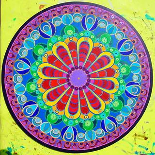 rainbow mandala 1