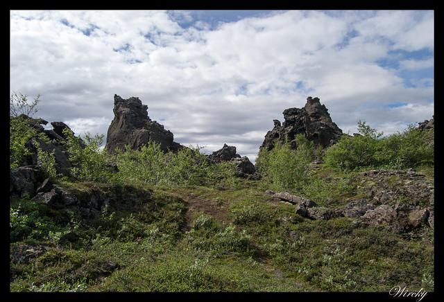 Formaciones de lava de Dimmuborgir