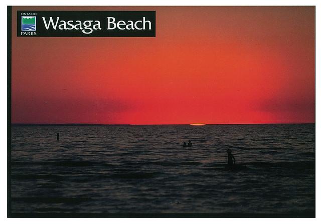 Ontario - Wasaga Beach - sanset