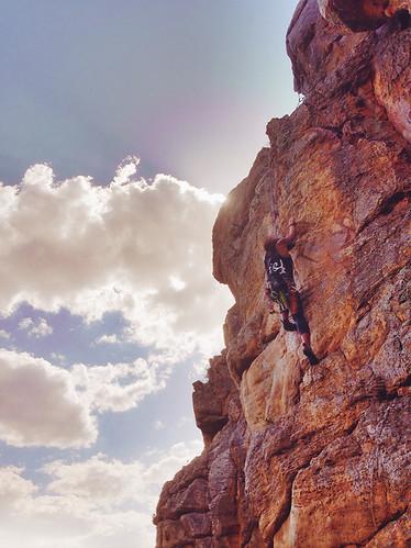 Sole Sister Emma Climbing-melbourne