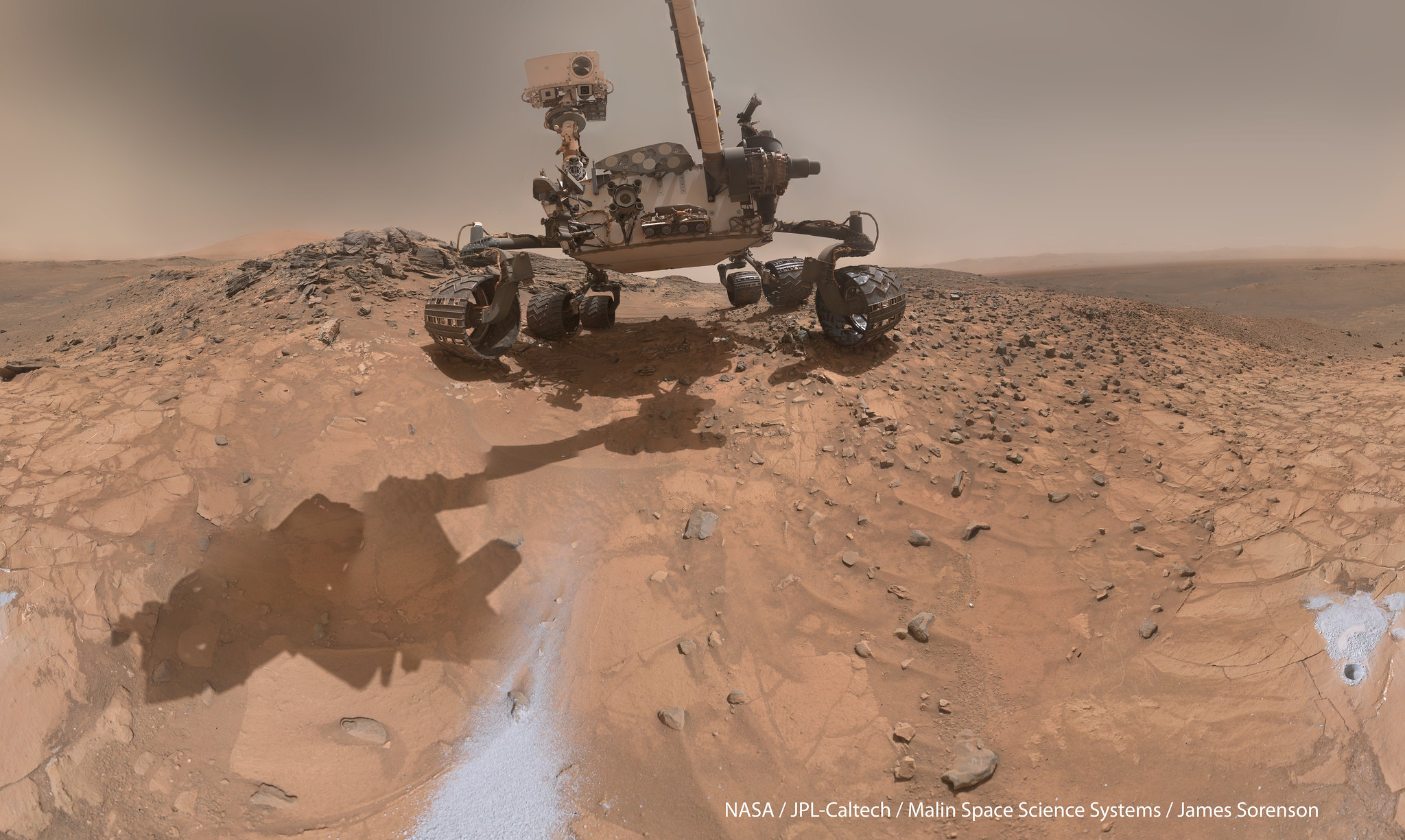 New data from Curiosity NASA baffled, from where the water on Mars