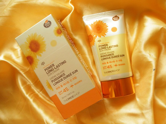 The Face Shop Sunscreen Natural Sun Power Long Lasting