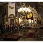 A l'intérieur de Notre Dame de Kazan