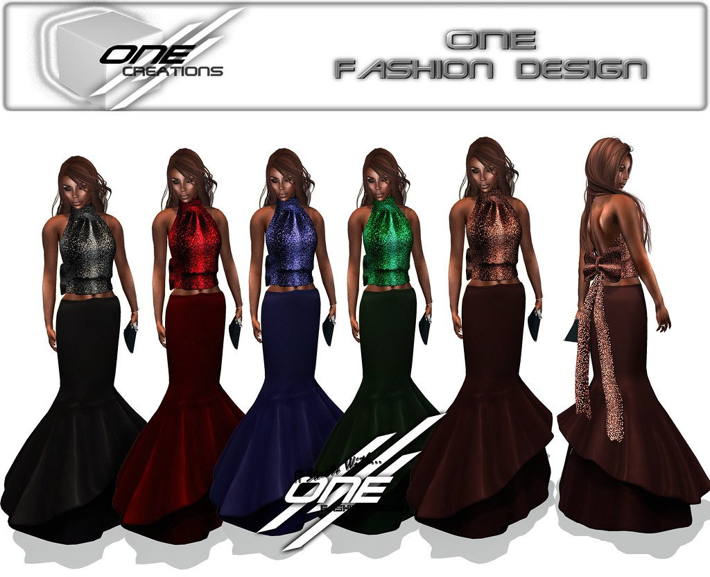 DQ...Fishtail Gown Set ( FATPACK ) - SecondLifeHub.com