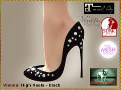 Bliensen - Vienna - High Heels - black