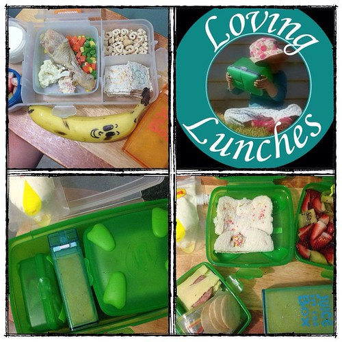 Loving tomorrows lunches for the girls… and that I found a lunchbox to fit our #JuiceInTheBox !!! 😄 our @smashenterprises giant luncher for Miss M and her growth spurt 😉 @boardwalkimports #JIB #schoollunch #iloveNFM #iloveSMASH @nudefoodmovers