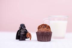 Darth Vader and the cupcake