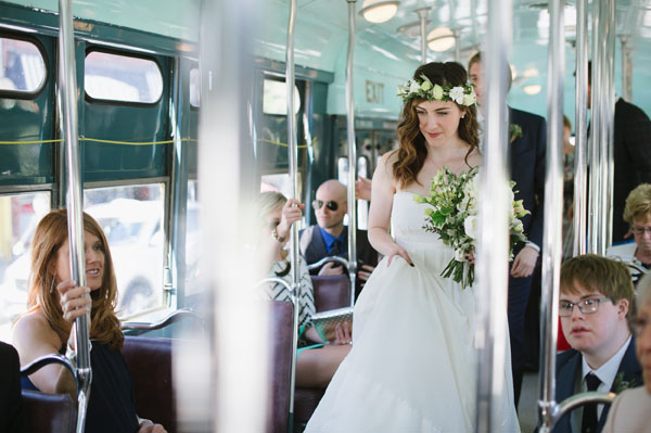 Celine Kim Photography Bellwoods Brewery intimate city wedding Toronto vintage ttc streetcar-49