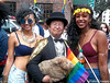 Dr. Takeshi Yamada and Seara (sea rabbit) visited the Gay Pride Parade in Manhattan, New York on June 28, 2015. The US President Barack Obama supports same-sex marriage. gay marriage. 100_8391=0010C by searabbits23