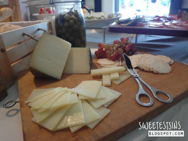 una summer sunday brunch cheese
