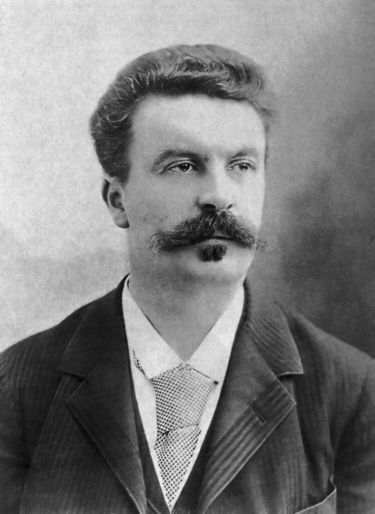 Guy_de_Maupassant_fotograferad_av_Félix_Nadar_1888