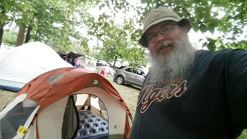Hiawatha 2015 campsite