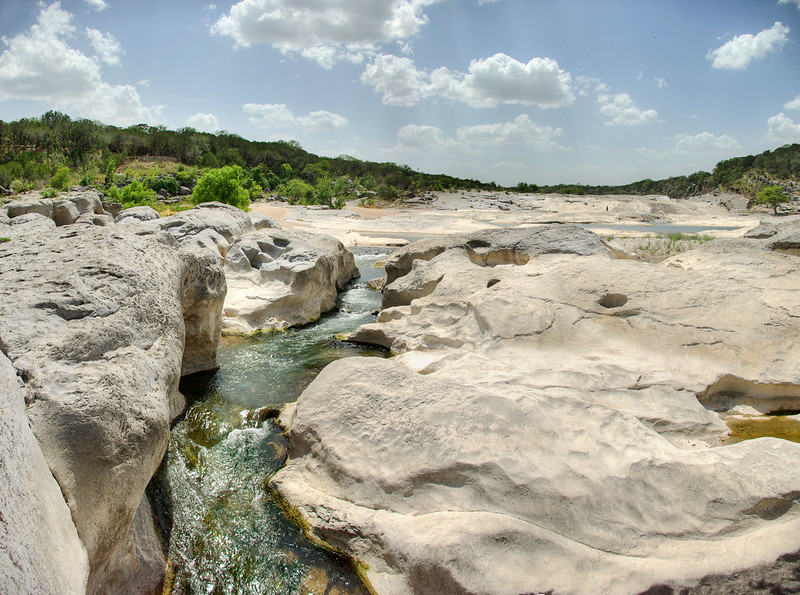 Marble Falls limestone, Pedernales Falls State Park, Blanco County, Texas 1