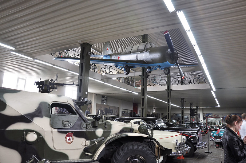 """Faeton"", museum of vintage vehicles"