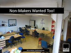 Non-Makers Wanted Too!