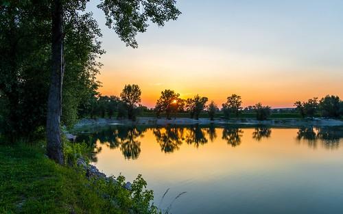 sunset lakes croatia nikkor173528 nikond600 zaprešić lakezajarki