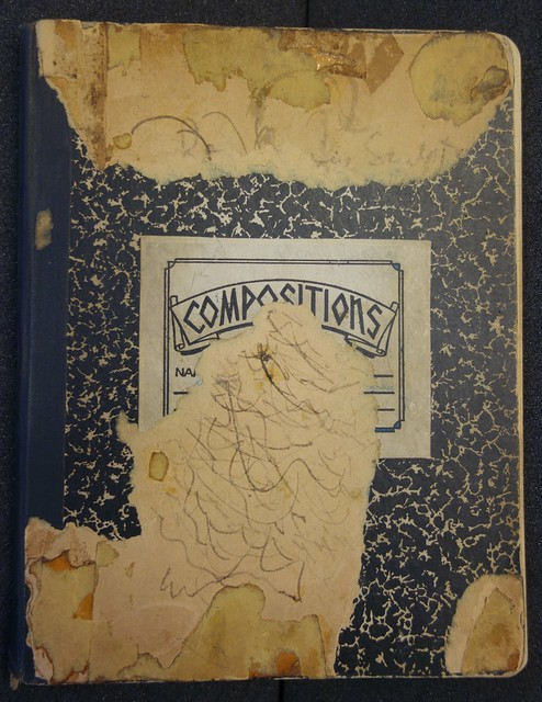 kaprow compositions book from the 1940s