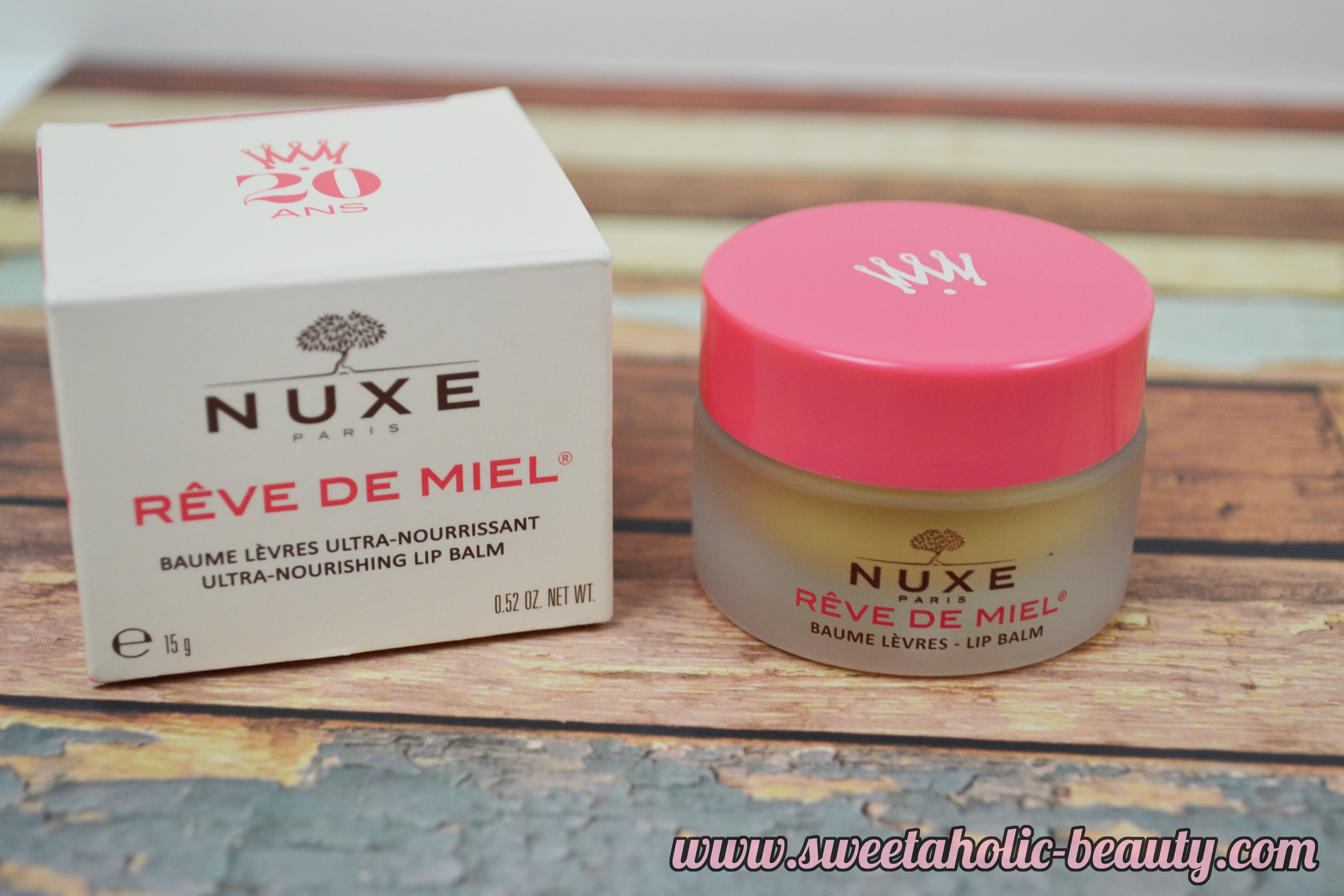 Nuxe Reve de Miel Lip Balm Review - Sweetaholic Beauty