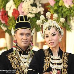 Closeup. Foto pengantin adat Jawa Paes ageng Kanigaran Jogja. Foto wedding Kak Mita & Kak Radit di APMD Yogyakarta, 26 Juli 2015. Foto wedding by @Poetrafoto, website: http://wedding.poetrafoto.com 👍😊😍