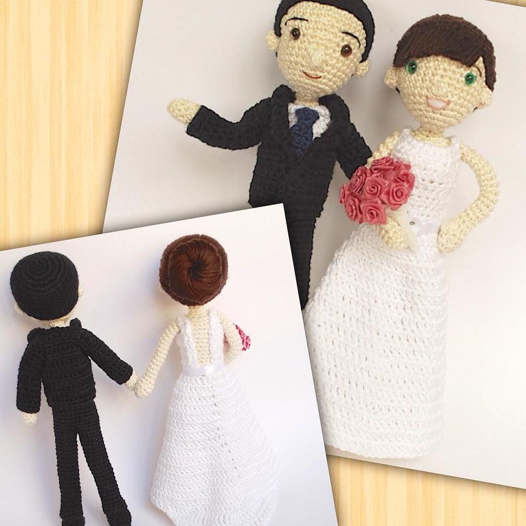 Crochet Mini Wedding Bears   1024x1024
