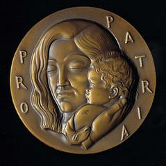 Pro Patria medal obverse