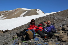 Resting on Mt. Adams