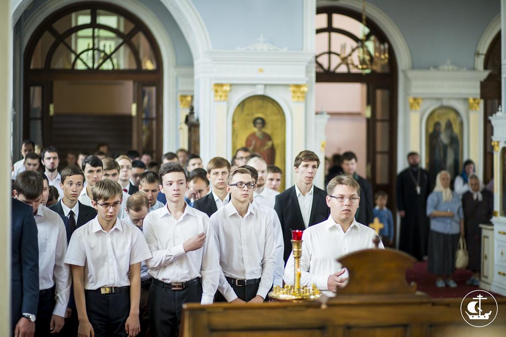 9 августа 2015, Литургия в день памяти св. вмч. и целителя Пантелеимона / 9 August 2015, Liturgy on the commemoration day of St Martyr Panteleimon