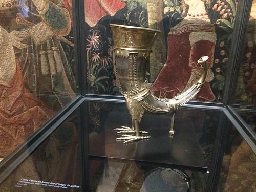 Drinking Horn with Griffon's Feet, Musée de Cluny