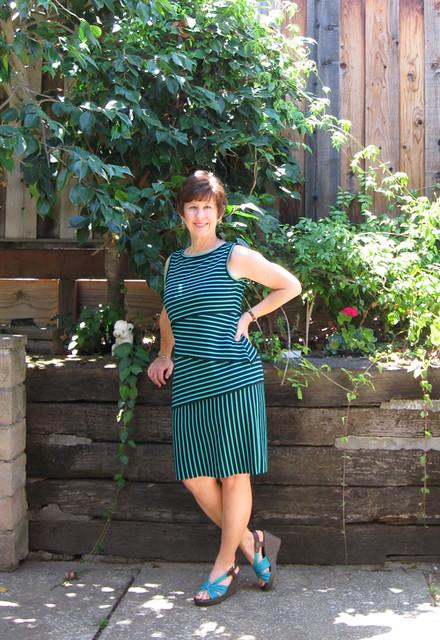 Stripe dress edited