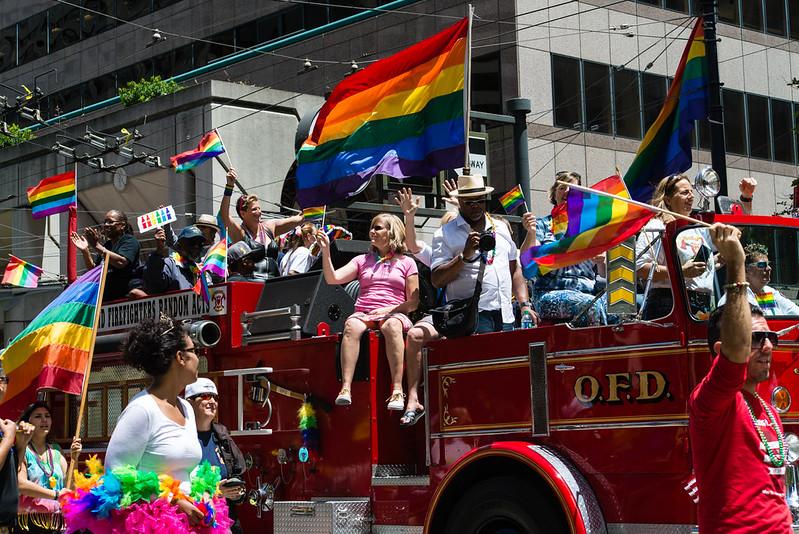 San Francisco Pride / Oakland Firefighters Random Acts