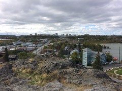 View of Yellowknife NWT from Pilot Hill, Oldtown