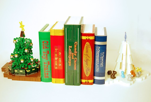 2016 - winter wonderland bookends