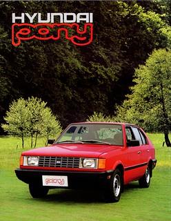 1984 Hyundai Pony (Canada)