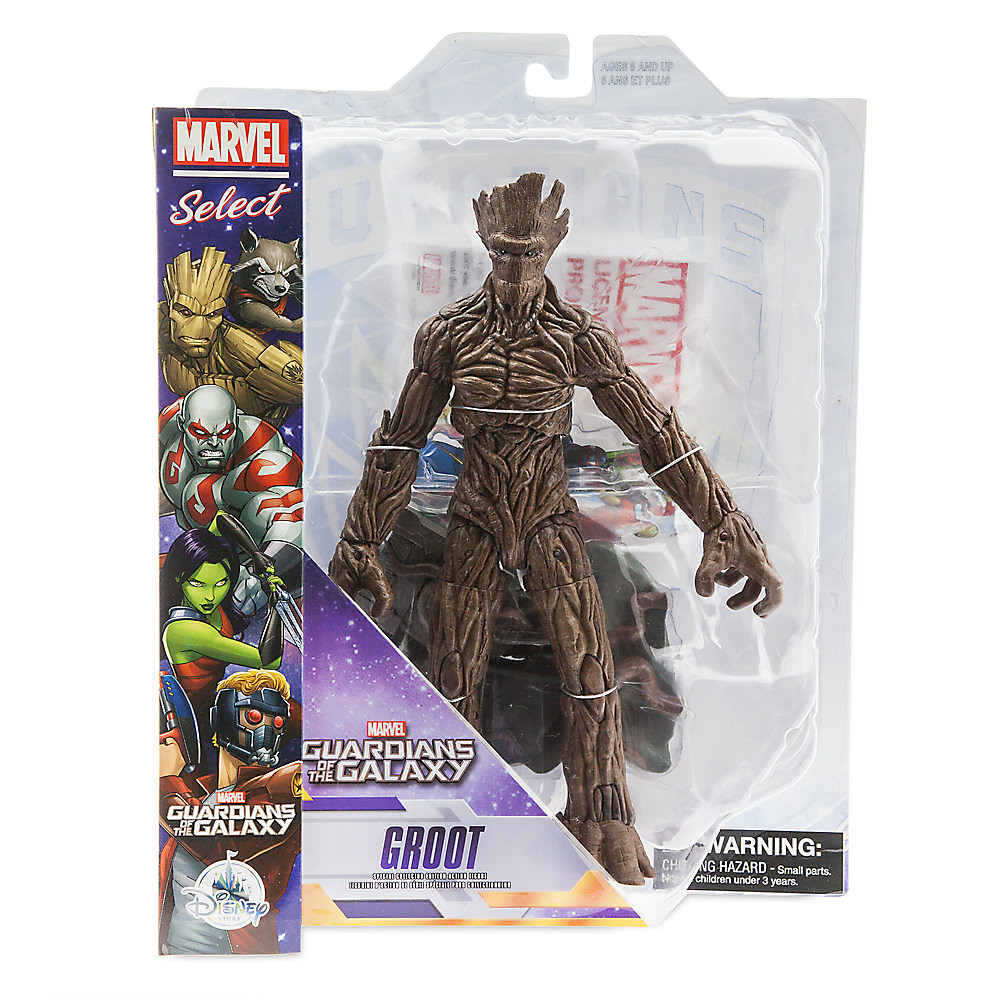Marvel Select【星際異攻隊:樹人格魯特】Guardians of the Galaxy Groot 10 吋可動人偶作品