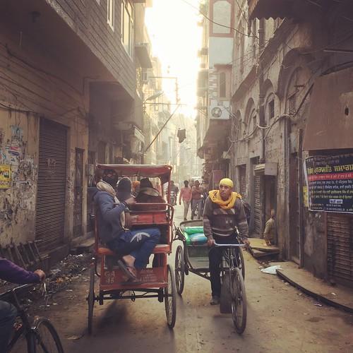 sunset street amristar india