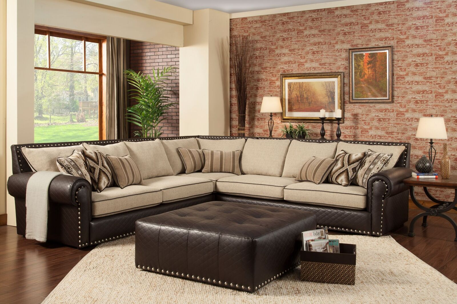 Regency : robert michael sectional sofa - Sectionals, Sofas & Couches