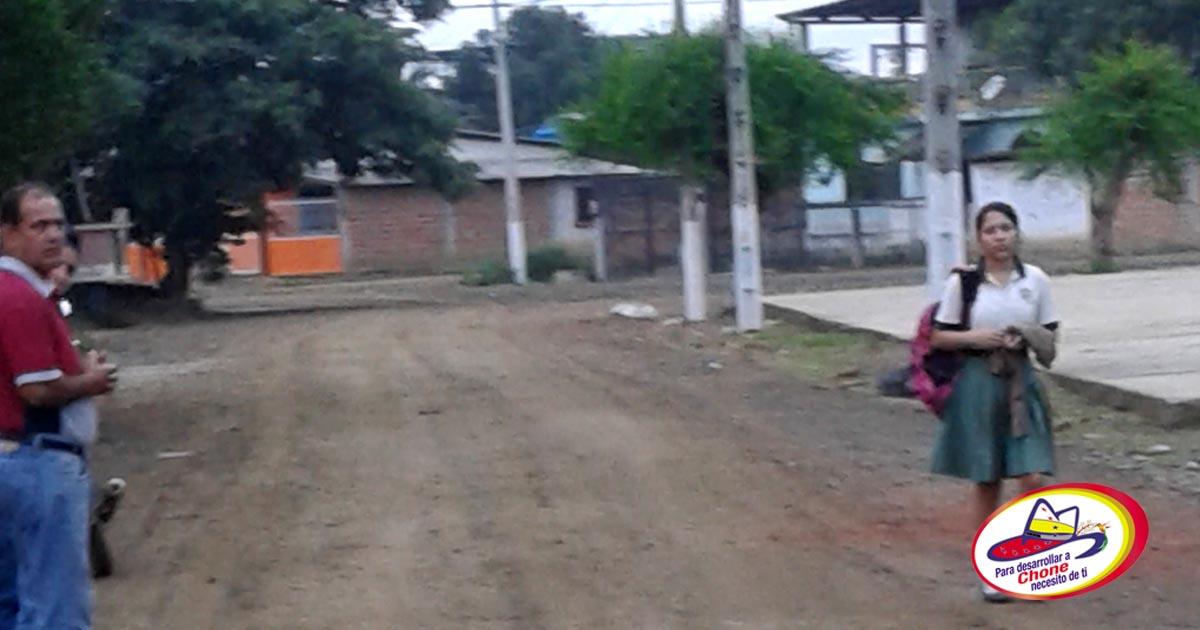 Dirigente de ciudadela anunció mejoramiento de calles