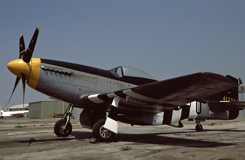 North American P-51D Mustang at the Planes of Fame Museum, 1980
