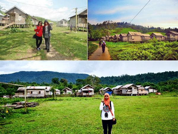 Kampung Dayak Teluk Sumbang
